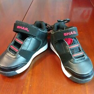 Toddler Athletic Shoes Shaq Shaquille O'Neal Black Sz 8 New Red White