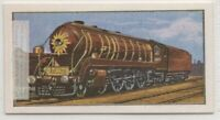 "India State Railways ""Pacific"" Engine Train  Vintage Ad Trade Card"