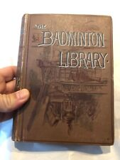 The Badminton Library Yachting Vol. 1 Antique 1895 Book Illustrated