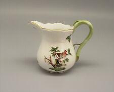 More details for herend hungary porcelain rothschild bird pattern creamer