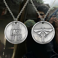 The Last of Us Necklace Pendant Chain Fireflies Charm Gaming PS4 UK Stock