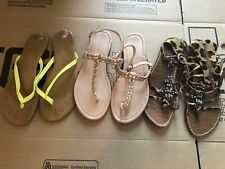 Women's Lot of 3 Pairs of Sam Edelman Tommy Bamboo Sandals Sz 8.5