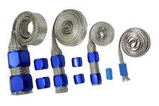 Blue Ford Braided Hose Sleeving Kit - Radiator, Vacuum, Heater & Fuel Line Hose