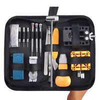 168 pieces Kit d'outils de reparation de montres Ouvreur de montre professi Y1V9