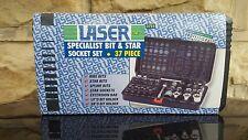 Laser Specialist Bit and Star Socket Set 37 piece