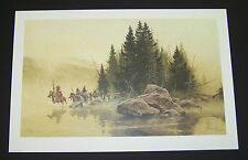 "Frank McCarthy Lmtd Ed Print ""Out of the Mist They Came"" w/Original Folder"