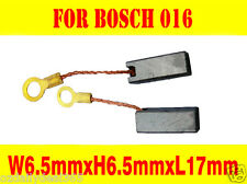 Carbon Brushes For Bosch 016 Grinder Saw 6.5X6.5X17mm 2 604 652 000 PWS6-115 OZ