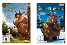 2 DVDs * DER GRÜFFELO  UND DAS GRÜFFELOKIND  IM SET # NEU OVP $