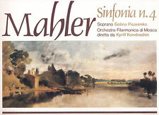 33 giri I TESORI DELLA MUSICA CLASSICA vol.90 - MAHLER, Sinfonia n.4