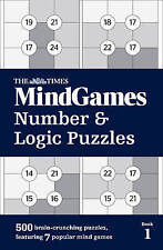 The Times Mind Games Number and Logic Puzzles Book 1 by The Times Mind Games...
