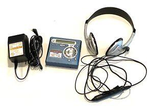 Sony MD Walkman MZ-R700 - MiniDisc Recorder with Headphones, Remote & Power