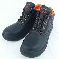 Stealth par Bodyguard Workwear Acier Plafonnés Bottes Chaussures Taille UK 12 F014