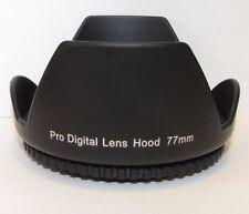 Used Pro Digital 77mm Lens Hood for 18-200mm