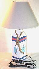 Lampe à poser décor marine 49 cm