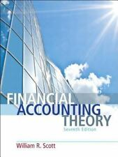 Financial Accounting Theory 7E by William R. Scott (2015, Hardcover)