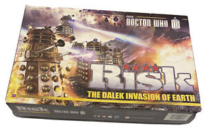 Risk Doctor Who Board Game - The Dalek Invasion of Earth