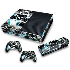 Xbox One Skin Stickers PVC for Xbox One Console & 2 Pads *Urban Skulls*