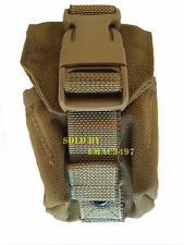 EAGLE INDUSTRIES NEW SINGLE FRAG GRENADE POUCH COYOTE( Each Additional Pouch 3$)