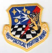 USAF patch - 419th Tactical Fighter Wing - Air Force Reserve - Hill AFB (F-16)