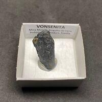 VONSENITA Vonsenite - Burguillos del Cerro - CAJITA - SPAIN MINERAL BOX 4x4 K651