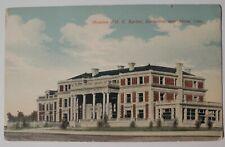 Vintage Postcard Mansion of O.C.Barber Barberton Ohio