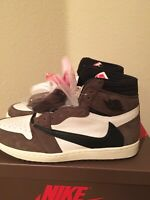 Air Jordan 1 High OG Travis Scott Cactus Jack, Size 13