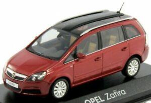 Vauxhall Zafira Red scale 1:43