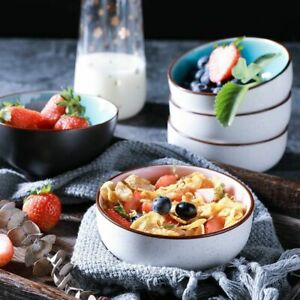 Porcelain Soup Noodle Rice Bowl Japanese Classical Ceramic Kitchenware Tableware