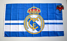 Real Madrid Flag Banner 3x5 ft Blue Spain Futbol Soccer Bandera Azul