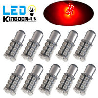 10x Pure Red 1157 27SMD High Power Brake Stop/Parking LED Light Bulbs 12V 1142
