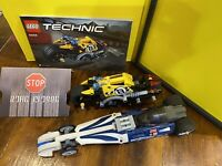 LEGO 42033 42058  Technic  Pull-Back Dragster  & Stunt Bike Motorcycle