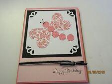 Stampin Up Dragon fly Birthday Card - Greeting Card Happy Birthday