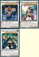 Loki +Odin +Thor, Lord of the Aesir 5 Ultras* 50 Cards Gullve* Sealed* Deck LEHD