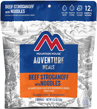 Mountain House Freeze Dried Beef Stroganoff With Noodles 6 Pouches 12 Servings