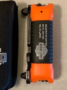 HARLEY-DAVIDSON ALL-IN-ONE FOLDING TOOL KIT BRAND NEW OEM 94435-10