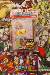 ♦️ Yu-gi-oh 50 Protège Carte Sleeve Teen Girl Nude Girl Sexy