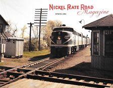 Nickel Plate Road Spring 1993 Wheeling Steel Fleet Hopper Cars Toledo Ohio NKP
