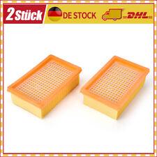 2x Flachfalten Filter Für Kärcher MV4, MV5, MV6, WD4, WD5, WD6, 2.863-005.0