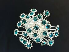 10pcs sparkling crystal flower bridal hair pins clips accessories hairpins C