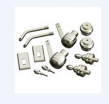 Kohler K-6825-BN IV George Brass Table Leg Styling