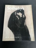 Sotheby's Auction Catalog 2002 New York PRINTS MUNCH PICASSO