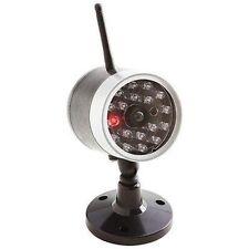 Wireless Fake Security Camera Motion Detector Sensor LED Bulbs CCTV Surveillance