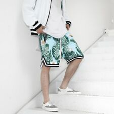 Tropical Flowers Casual Basketball Shorts M L XL