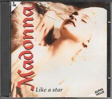 "MADONNA - RARO 2 CD ITALY ONLY "" LIKE A STAR """