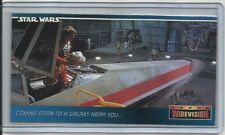 "1994 Star Wars Widevision (Topps) BINDER EXCLUSIVE ""Promo Card"" #00"