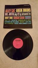 BILL JUSTIS: Alley Cat/green Onions vinyl record VG+  #1