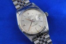 1983 Rolex Datejust 18K Bezel Stainless Steel Automatic Men's Watch 16014
