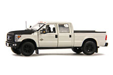 "Ford F250 Crew Cab 6 Ft Bed - ""WHITE"" Black Hood - 1/50 - Sword #SW1200WM"