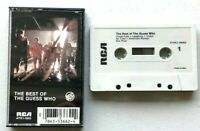 The Best of The Guess Who RCS Cassette Tape music - tested plays good