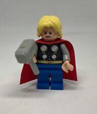 LEGO Thor With Hammer Avengers Super Heroes Marvel Minifigure Genuine LEGO
